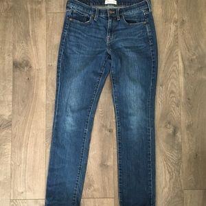Madewell straight leg jean size 27